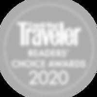 Condénast Traveler readers' choice awards 2020