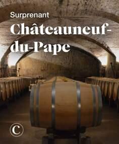Surprenant Châteauneuf-du-Pape