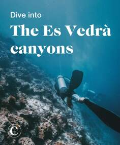 Dive into the Es Vedrà canyons