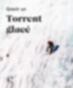 Gravir un torrent glacé