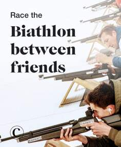 Race the Biathlon between friends