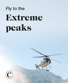 Fly to the extreme peaks