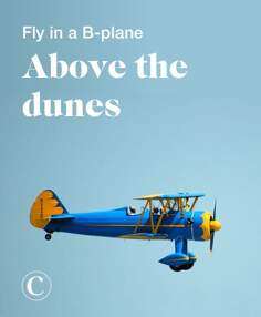 Fly in a B-plane above the dunes