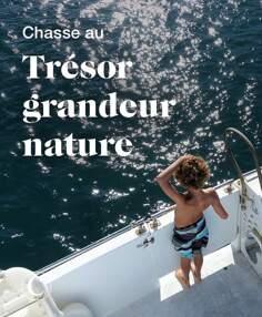 Chasse au trésor grandeur nature