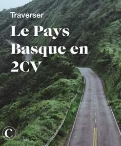 Traverser le Pays Basque en 2CV