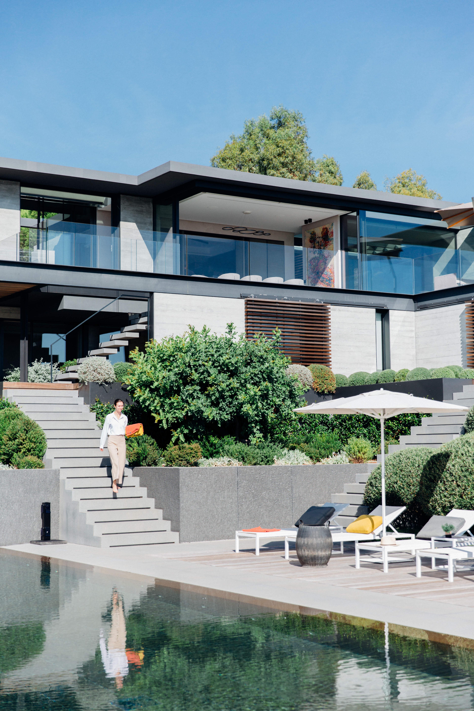 Villas de luxe avec service